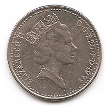 Moneda Gran Bretaña Inglaterra 10 Pence Año 1992 ##
