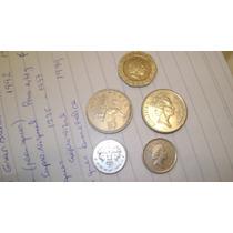 5 Monedas De Inglaterra Gran Bretaña De 10 ,5 Y 20 Peniques