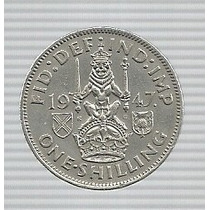 Inglaterra 1 Shilling 1947