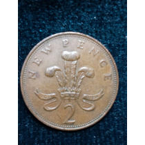 Moneda Inglaterra 1971/ 2 New Pence Ref P5-2