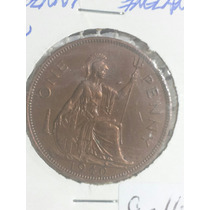 Moneda Inglaterra One. Penny Ref C14