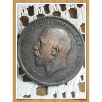 Moneda Inglaterra One Penny 1919 Ref P 16 -9