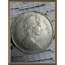 Moneda Inglaterra 10 New Pence 1968 Ref P2-30