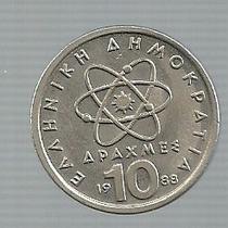 Grecia 10 Dracma 1988