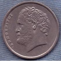 Grecia 10 Drachmai 1998 * Democritus *