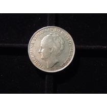 Holanda 1 Gulden 1944 Moneda De Plata 6,5 Gramos Unc Escasa
