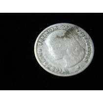 10 Centavos De Holanda Plata , Año 1897