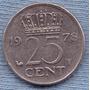 Holanda 25 Cents 1978 * Juliana I *