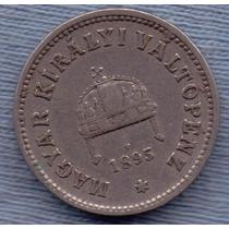 Hungria 10 Filler 1895 * Franz Joseph I * Rara *