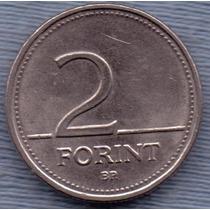 Hungria 2 Forint 1995 * Flor Nativa Del Lugar *