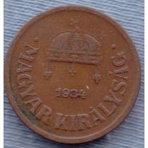 Hungria 2 Filler 1934 * Regencia Almirante Horth *