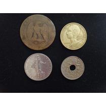 Colección Monedas Francia: Centimes Y Francos