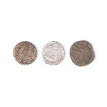 Lote De 3 Monedas Antiguas (medieval Coins) Plata