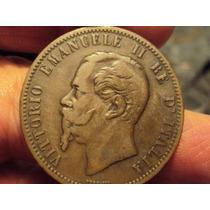 Moneda Italia 10 Centesimi 1866 M (486)