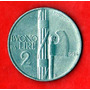Antigua Moneda Italia - 2 Liras 1924 Vittorio Emanvele 3°
