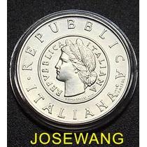 Lira. Moneda Conmemorativa Italiana Del Año 2001 Plata