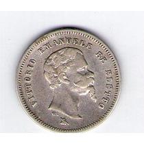 Moneda De Italia 0.50 Centesimi 1860