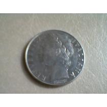 Moneda Italiana De 100 Liras- 1980-