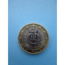 Moneda De 1 Euro De San Marino Sin Circular Año 2013