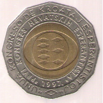 Croacia 25 Kuna 1997 Bimetalica S/c