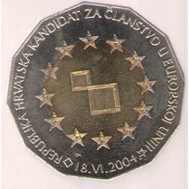 Croacia 25 Kuna 2004 Bimetalica S/c