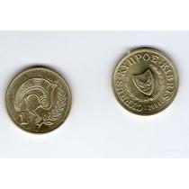 Chipre 1 Cent 2004 Unc!