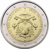 Vaticano - Moneda Bimetálica 2 Euro 2013 - Sede Vacante