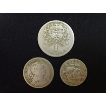 Colección Monedas De Portugal: Escudos Y Centavos
