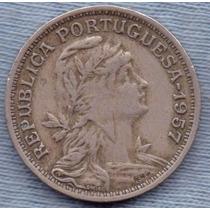 Portugal 50 Centavos 1957 * Republica *