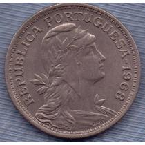 Portugal 50 Centavos 1968 * Republica *