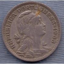Portugal 50 Centavos 1955 * Republica *