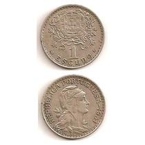Fabulosa Moneda Portugal 1 Escudo 1951