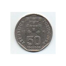Portugal 50 Escudos Año 1987 C/n Vf) Mm 1186