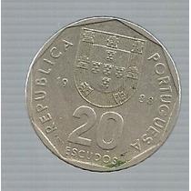 Portugal 20 Escudos 1988