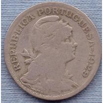 Portugal 50 Centavos 1929 * Republica *
