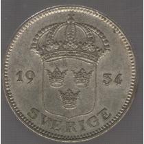Suecia 50 Ore 1934 Exc+