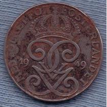 Suecia 2 Ore 1949 * Gustaf V *