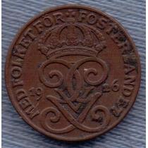 Suecia 1 Ore 1926 * Gustaf V *