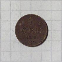 Suecia 1 Ore 1885