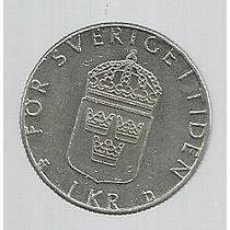 Suecia 1 Kroner 1989