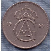 Suecia 50 Ore 1964 * Gustaf Vi *
