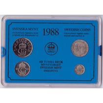 Suecia 10, 50 Ore Y 1,5 Kronor 1988 * Mint *