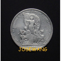 5 Francs , Moneda Antigua De Suiza Del Año 1881 Plata Unico