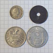Colección 4 Monedas Del Mundo