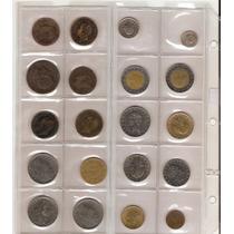 Colección Monedas Del Mundo 20 Diferentes