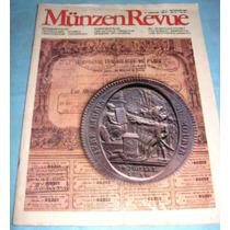 Revista Numismatica Munzen Revue N°9, Alemana