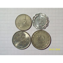 Israel Lote 4 Monedas Antiguas