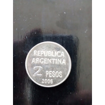 Numismatica Moneda De 2$ 2006-derech.humanos- -argentina