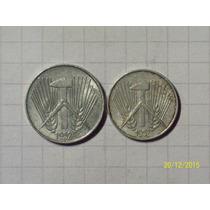 Alemania Oriental 1 Y 5 Pfennig 1952