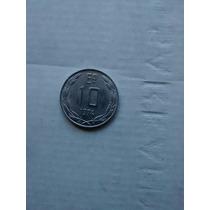 Numismatica Moneda Chilena 10 -1974-